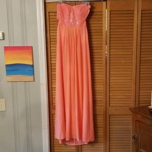 Evening or prom gown